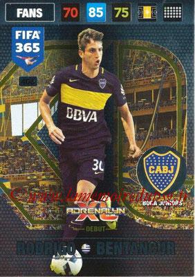 2016-17 - Panini Adrenalyn XL FIFA 365 - N° 406 - Rodrigo BENTANCUR (CA Boca Juniors) (Debut)
