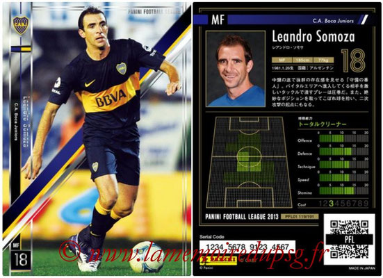 Panini Football League 2013 - PFL01 - N° 119 - Leandro Somoza ( C.A. Boca Juniors )