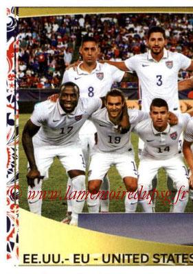 Panini Copa America Centenario USA 2016 Stickers - N° 015 - Equipe USA 1