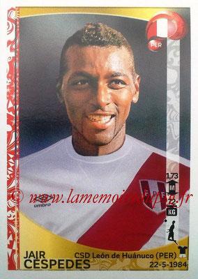 Panini Copa America Centenario USA 2016 Stickers - N° 191 - Jair CESPEDES (Perou)