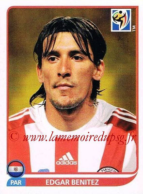 2010 - Panini FIFA World Cup South Africa Stickers - N° 446 - Edgar BENITEZ (Paraguay)