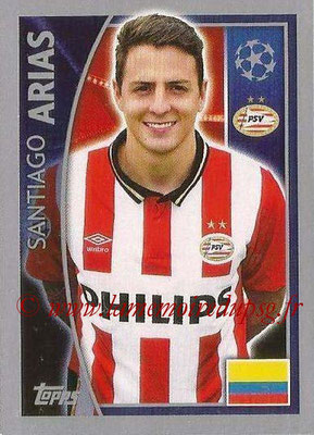 2015-16 - Topps UEFA Champions League Stickers - N° 091 - Santiago ARIAS (PSV Eindhoven)