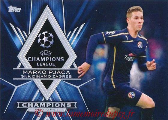 2015-16 - Topps UEFA Champions League Showcase Soccer - N° CP-MP - Marko PJACA (GNK Dinamo Zagreb) (Champions Pedigree)