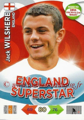 2014 - Panini Road to FIFA World Cup Brazil Adrenalyn XL - N° 065 - Jack WILSHERE (Angleterre)