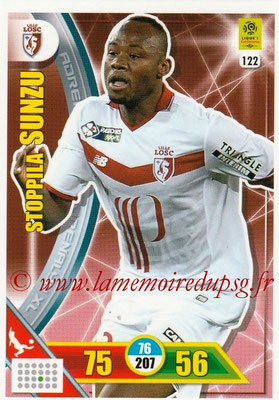 2017-18 - Panini Adrenalyn XL Ligue 1 - N° 122 - Stopilla SUNZU (Lille)