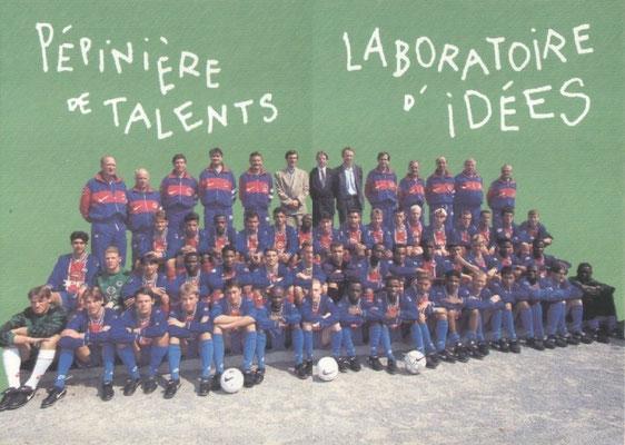 N° 128 et 129 - Formation - Pépinière de talents et Laboratoire d'idées (Recto)