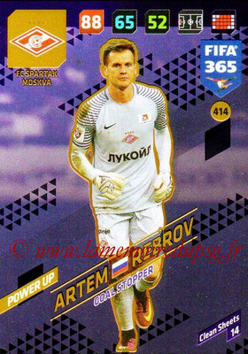 2017-18 - Panini FIFA 365 Cards - N° 414 - Artem REBROV (FC Spartak Moscou) (Goal Stopper)