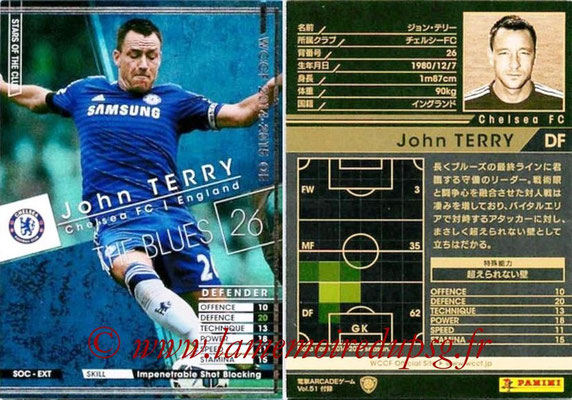 2014-15 - WCCF - N° SOC-EXT10 - John TERRY (Chelsea FC) (Stars of The Clubs) (Extra)
