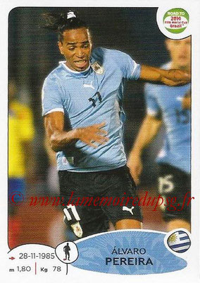 2014 - Panini Road to FIFA World Cup Brazil Stickers - N° 074 - Alvaro PEREIRA (Uruguay)