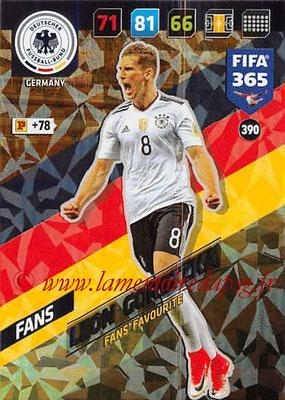 2017-18 - Panini FIFA 365 Cards - N° 390 - Leon GORETZKA (Allemagne) (Fans' Favourite)