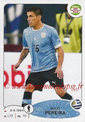2014 - Panini Road to FIFA World Cup Brazil Stickers - N° 078 - Maxi PEREIRA (Uruguay)