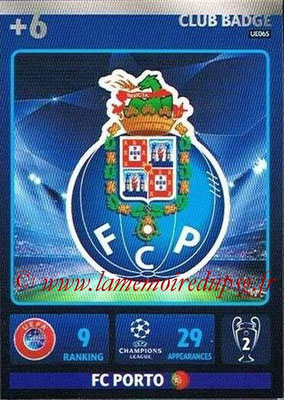 2014-15 - Adrenalyn XL champions League Update edition N° UE065 - Logo FC Porto (Club badge)