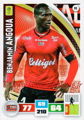 2016-17 - Panini Adrenalyn XL Ligue 1 - N° 095 - Benjamin ANGOUA (Guingamp)