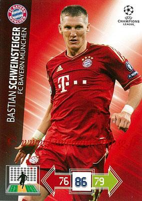 2012-13 - Adrenalyn XL champions League N° 049 - Bastian SCHWEINSTEIGER (FC Bayern Munich)