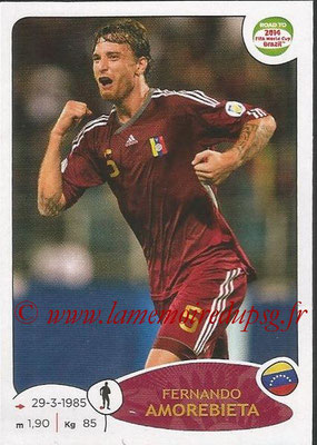 2014 - Panini Road to FIFA World Cup Brazil Stickers - N° 234 - Fernando AMOREBIETA (Vénézuela)