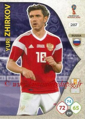 2018 - Panini FIFA World Cup Russia Adrenalyn XL - N° 287 - Yuri ZHIRKOV (Russie)