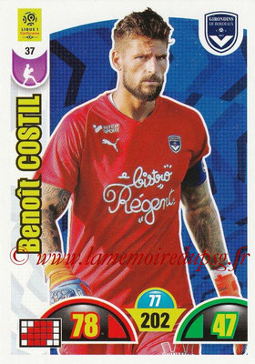 2018-19 - Panini Adrenalyn XL Ligue 1 - N° 037 - Benoit COSTIL (Bordeaux)