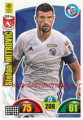 2018-19 - Panini Adrenalyn XL Ligue 1 - N° 328 bis - Stefan MITROVIC (Strasbourg)