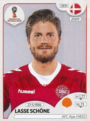 2018 - Panini FIFA World Cup Russia Stickers - N° 266 - Lasse SCHONE (Danemark)