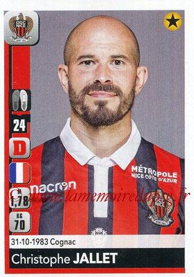 N° 308 - Christophe JALLET (2009-14, PSG > 2018-19, Nice)