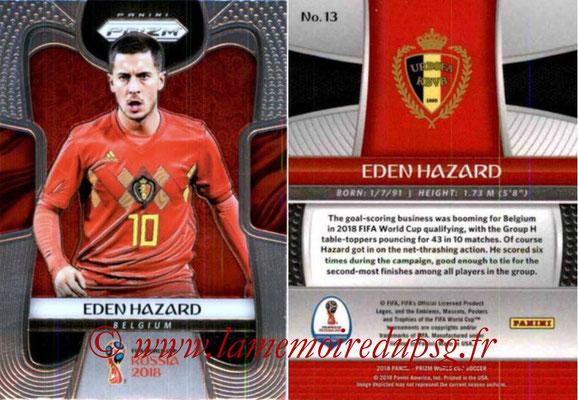 2018 - Panini Prizm FIFA World Cup Russia - N° 013 - Eden HAZARD (Belgique)