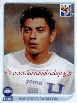 2010 - Panini FIFA World Cup South Africa Stickers - N° 607 - Mauricio SABILLON (Honduras)