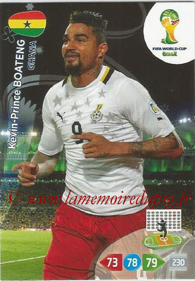 2014 - Panini FIFA World Cup Brazil Adrenalyn XL - N° 174 - Kevin-Prince BOATENG (Ghana)