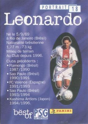 N° 018 - LEONARDO (Verso)