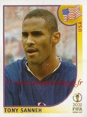 2002 - Panini FIFA World Cup Stickers - N° 285 - Tony SANNEH (Etats-Unis)