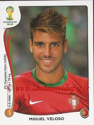 2014 - Panini FIFA World Cup Brazil Stickers - N° 517 - Miguel VELOSO (Portugal)