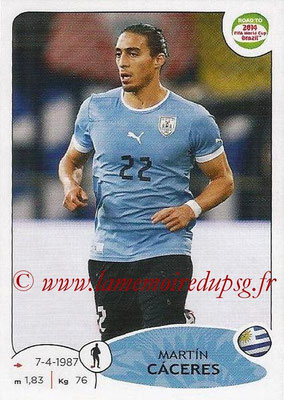2014 - Panini Road to FIFA World Cup Brazil Stickers - N° 075 - Martin CACERES (Uruguay)