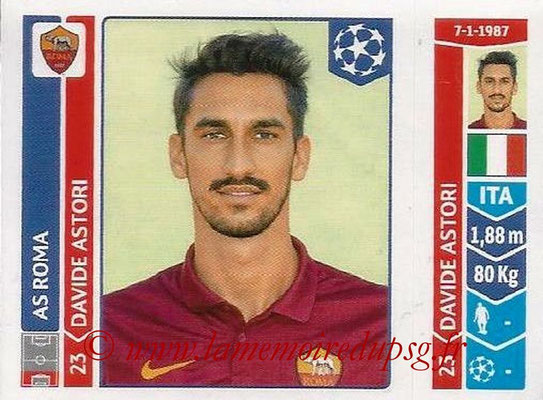2014-15 - Panini Champions League N° 410 - Davide ASTORI (AS Rome)