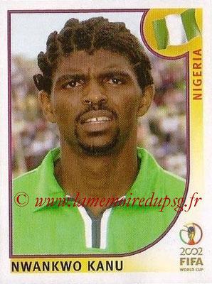 2002 - Panini FIFA World Cup Stickers - N° 418 - Nwankwo KANU (Nigéria)