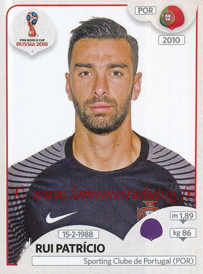 2018 - Panini FIFA World Cup Russia Stickers - N° 114 - Rui PATRICIO (Portugal)