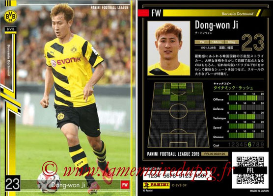 Panini Football League 2015 - PFL09 - N° 092 - Dong-Won JI (Borussia Dortmund)