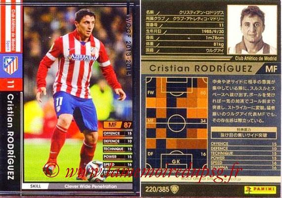 2013-14 - WCCF - N° 220 - Crisitan RODRIGUEZ (Atletico Madrid)