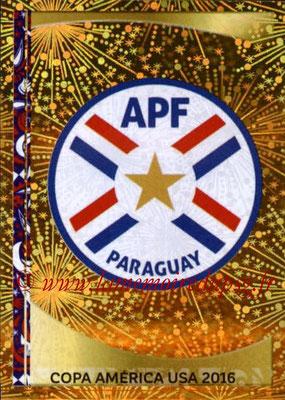 Panini Copa America Centenario USA 2016 Stickers - N° 086 - Logo Paraguay