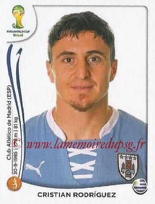2014 - Panini FIFA World Cup Brazil Stickers - N° 272 - Cristian RODRIGUEZ (Uruguay)