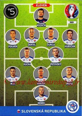 Panini Euro 2016 Cards - N° 369 - Équipe Type de Slovenie
