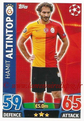 2015-16 - Topps UEFA Champions League Match Attax - N° 388 - Hamit ALTINTOP (Galatasaray AS)