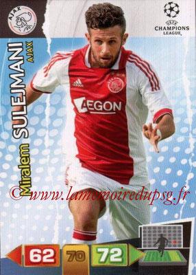 2011-12 - Panini Champions League Cards - N° 009 - Miralem SULEJMANI (AFC Ajax)