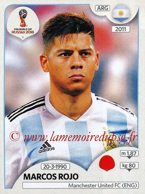 2018 - Panini FIFA World Cup Russia Stickers - N° 279 - Marcos ROJO (Argentine)
