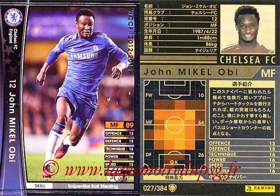 2012-13 - WCCF - N° 027 - Juan OBI MIKEL (Chelsea FC)