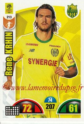 2018-19 - Panini Adrenalyn XL Ligue 1 - N° 213 - Rene KRHIN (Nantes)
