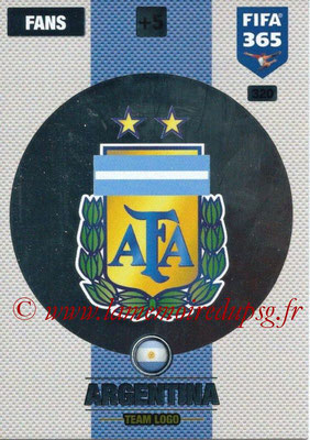 2016-17 - Panini Adrenalyn XL FIFA 365 - N° 320 - Logo Argentine (Club Badge)