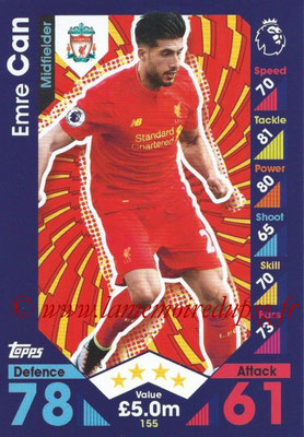 2016-17 - Topps Match Attax Premier League - N° 155