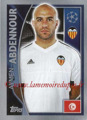 2015-16 - Topps UEFA Champions League Stickers - N° 556 - Aymen ABDENNOUR (FC Valence)