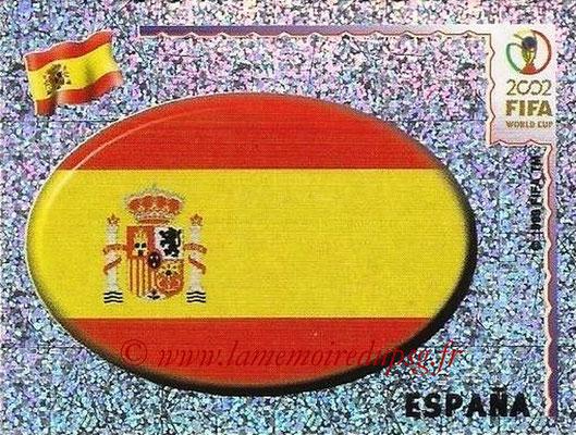 2002 - Panini FIFA World Cup Stickers - N° 098 - Logo Espagne