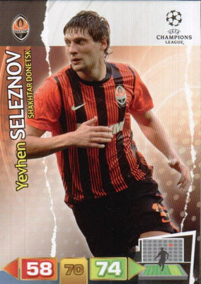 2011-12 - Panini Champions League Cards - N° 247 - Yevhen SELEZNOV (Shakhtar Donetsk)