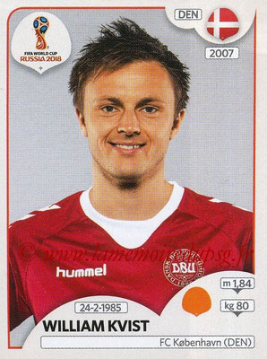 2018 - Panini FIFA World Cup Russia Stickers - N° 263 - William KVIST (Danemark)